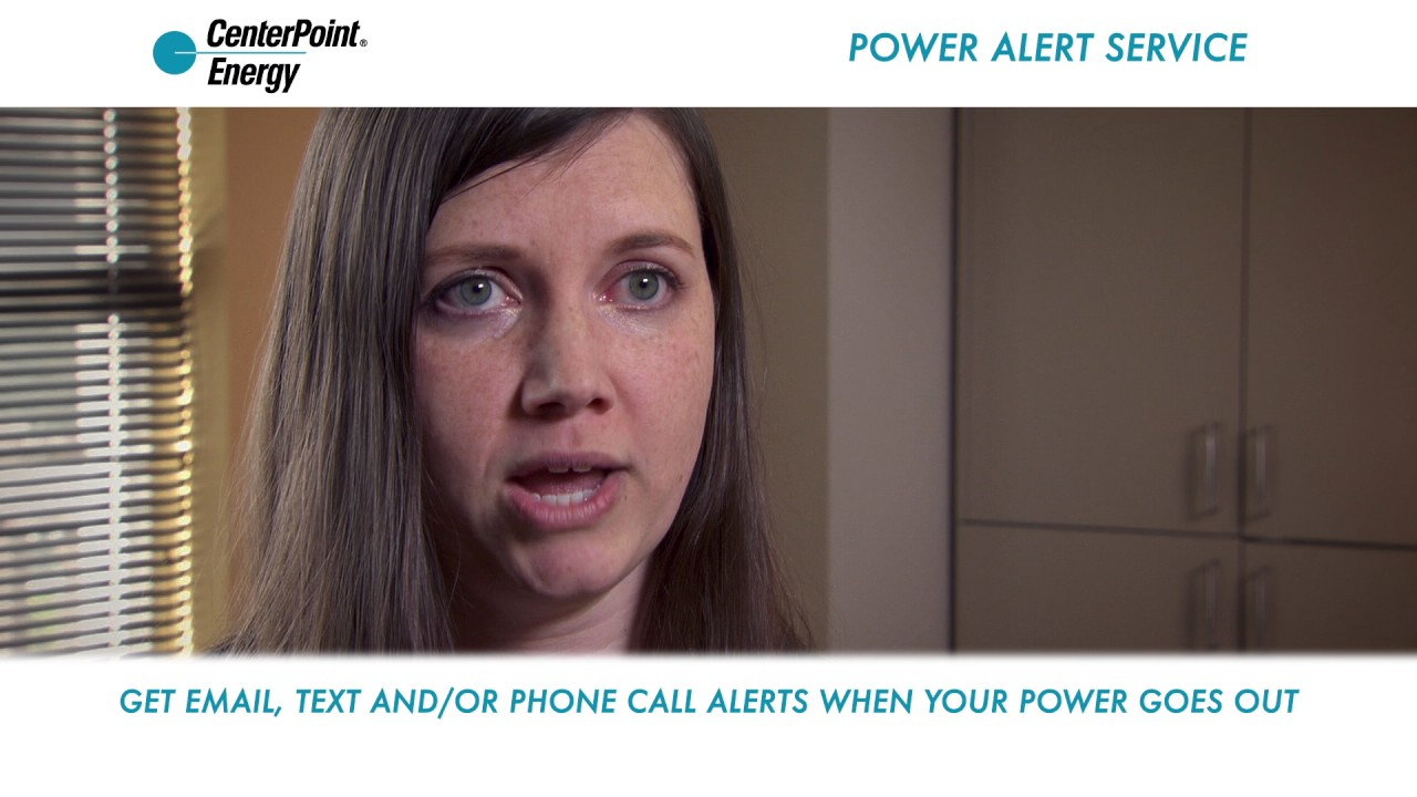 Centerpoint Phone Number >> Outage Center