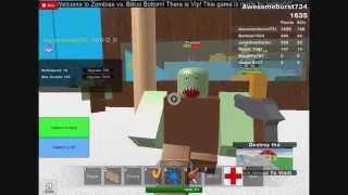 Roblox-ZOMBIES ATTAKING BIKINI BOTTOM!!!!! Part 2
