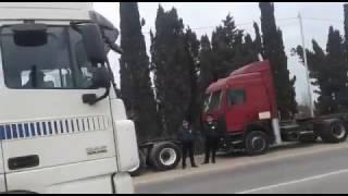 Стачка дальнобойщиков в Дербенте