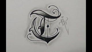Diseño letras tattoo / Lettering tattoo (line)- Nosfe Ink Tattoo