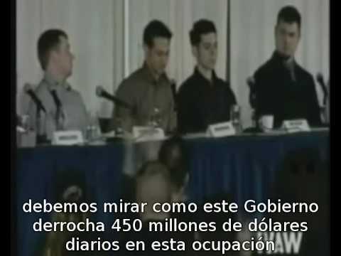 AMAZING SPEECH BY WAR VETERAN Asombroso discurso de un Veterano SUBTITULADO ESPAÑOL