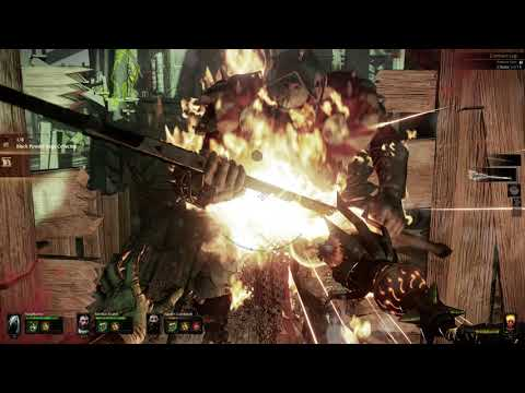 Warhammer End Times – Vermintide - Co-op Mission Easy - Ubersreik Act 2 Black Powder |