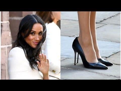 34259630f Dlaczego Meghan Markle zawsze nosi za duże buty? Wiemy! - YouTube