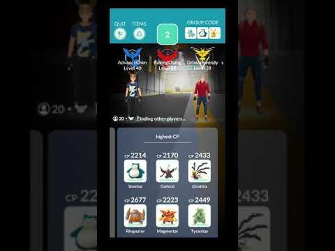 【Pokémon Go】實測!打團體戰時夥伴不上場會有一起對戰!?