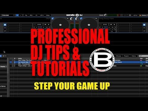 Professional DJ Tip - Export Serato History Playlist For Mac and PC