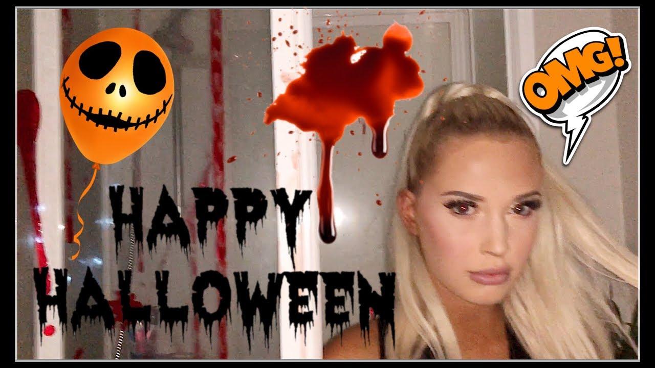 Skummel Halloween Sminke.Bli Med Pa En Skummel Halloween Fest