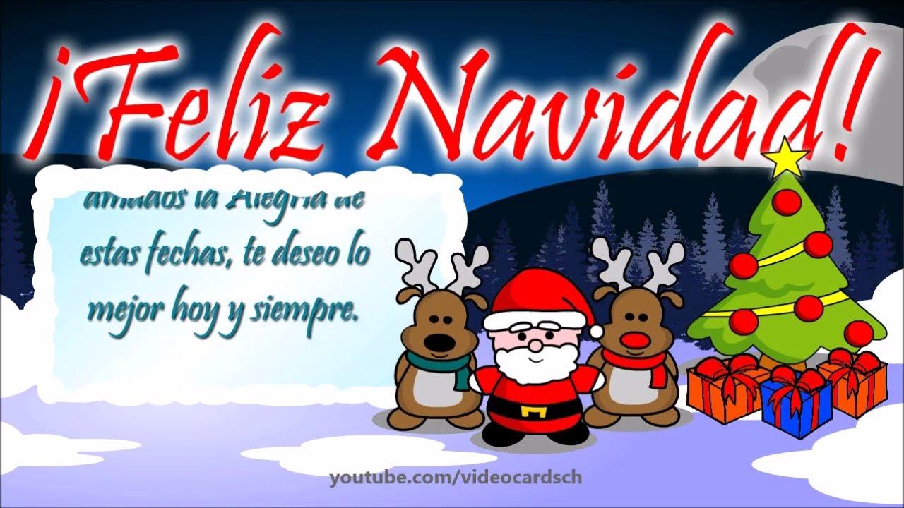 Felicitaciones navide as animadas felicitaciones - Dibujos tarjetas navidenas ...
