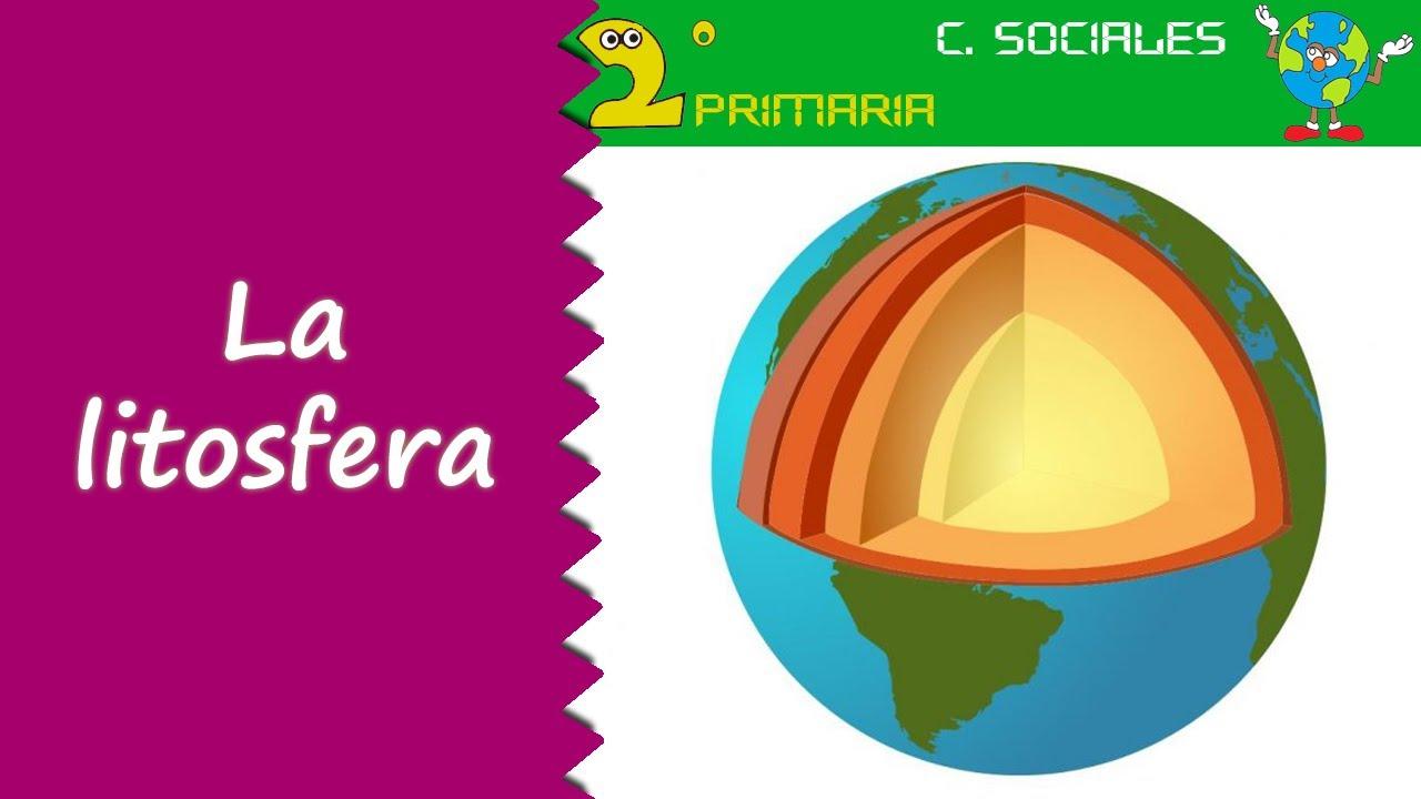 Ciencias Sociales 2º Primaria Tema 4 La Litosfera Youtube