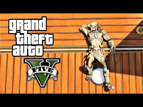 GTA 5 – Predator vs Los Santos (Predator Mod Fun & Crazy Moments / Mayhem)