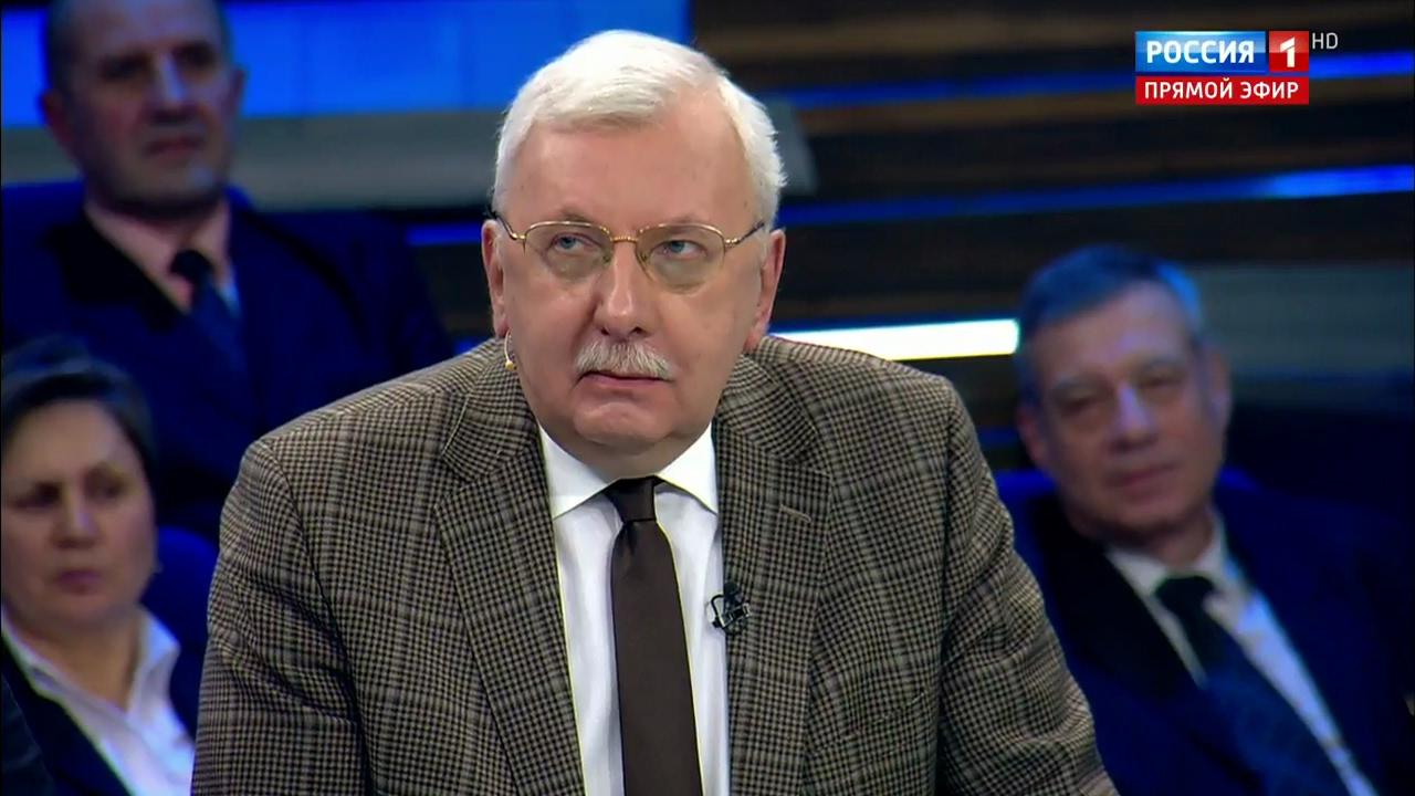 """Виталий Третьяков о журналистах, Сокурове и интеллигенции. """"60 минут""""."""
