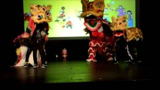 Văn nghệ mừng Tết Trung Thu 2015 Lời giới thiệu và Múa Lân khai mạc