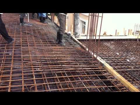 First Floor Concrete pouring in Site 1 (Part 2 )
