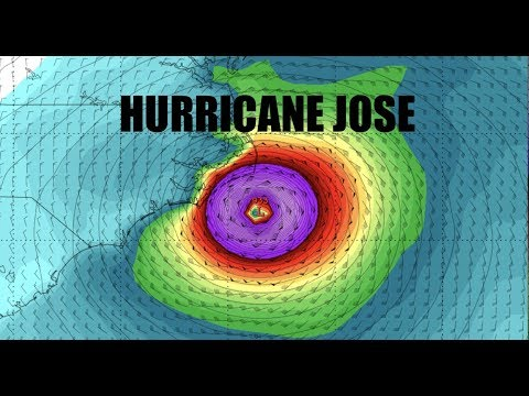 NEW - JOSE - Forecast models show East Coast Impact - Major Storm