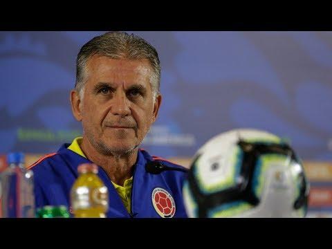 Rueda de prensa convocados partidos Selección Colombia contra Brasil y Venezuela