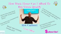 How Much House Can I Afford To Buy Versus Qualify