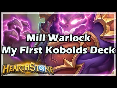 [Hearthstone] Mill Warlock, My First Kobolds Deck