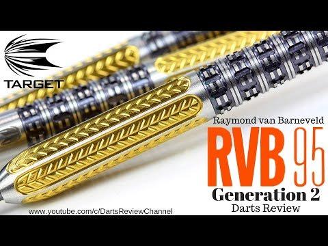 Target Raymond van Barneveld RVB 95 Generation 2 25g darts review