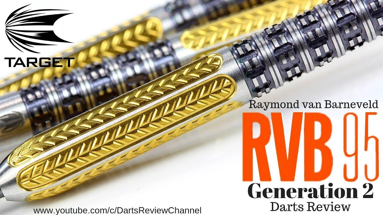 Target Raymond van Barneveld RVB 95 Generation 2 25g darts ...