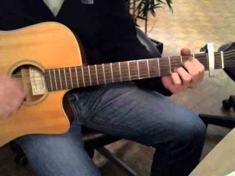 Let It Go Frozen Guitar Cover With Tab And Chords By Idina Menzel