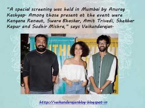 Thumbnail for Vaikundarajan On National Award Winning Film Thithi