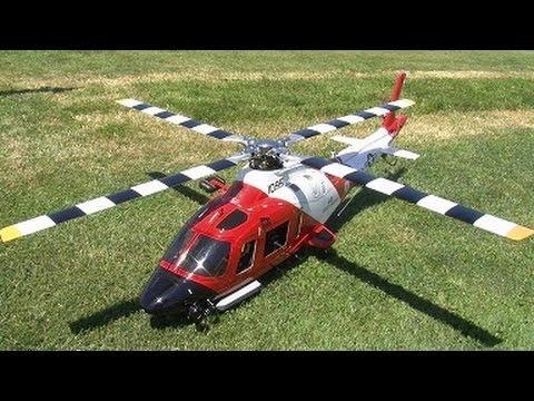 Agusta Westland RC AW109  U.S.  Coast Guard On a Trex 600 chassis