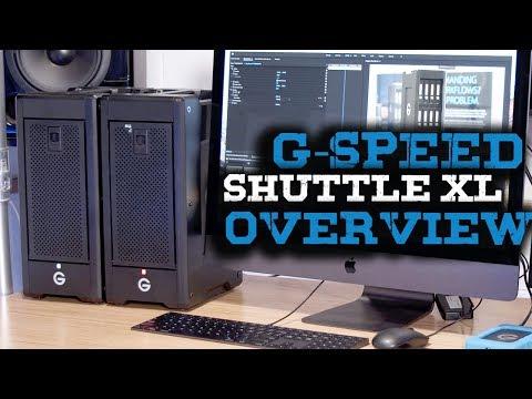 G-Tech G-Speed Shuttle XL Thunderbolt 3 Overview