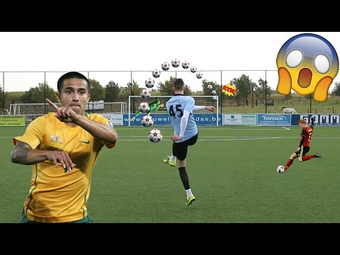 TIM CAHILL IMPOSSIBLE GOAL IN REAL LIFE FOOTBALL!! BEST GOALS RECREATED!! #8