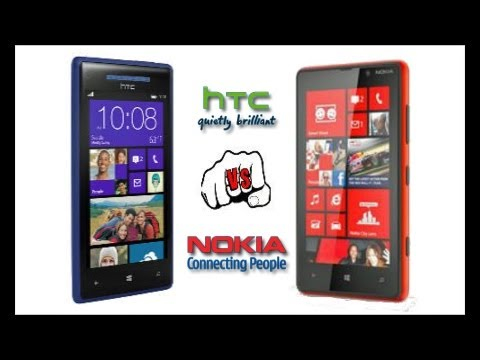 Nokia Lumia 920 vs HTC 8X par PhoneWeekMobile
