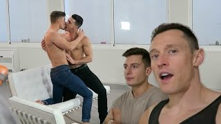OMG At A Gay Porn Shoot!
