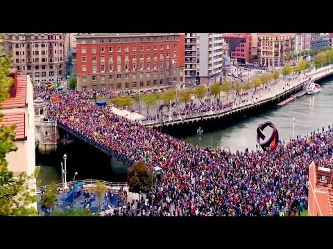 Basque Country supporting Catalonia independence