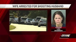 Woman admits shooting husband after argument over taxes