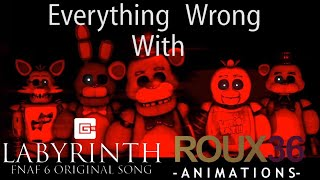 SFM SINS: Everything Wrong With Labyrinth by Roux36 Productions (Cinemasins parody)