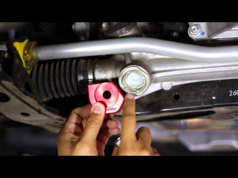 FT-86 SpeedFactory - FRS and BRZ Perrin Steering Rack Lockdown Install - DIY