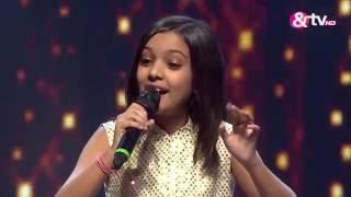 Nishtha - Tere Bina - Liveshows - Episode 21 - The Voice India Kids
