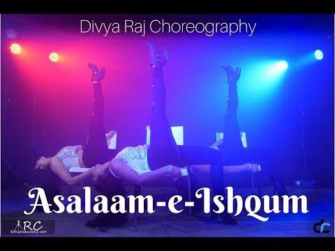 Asalaam-e-Isum  Bollywood Heels  Divya Raj Choreography