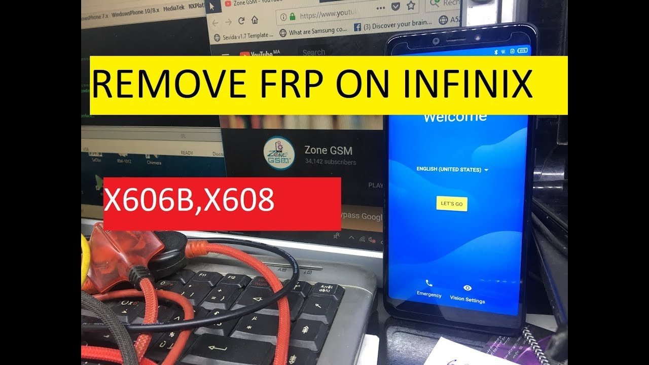 HOW TO BYPASS FRP ON INFINIX X608 HOT 6 PRO WITHOUT PC Android – 8 0 Oreo  2019