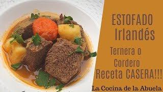Estofado irlandés  La Cocina de la Abuela