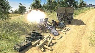 Artillery Bombards Soviet Defense Line - Barbarossa 1941 | Men of War: Assault Squad 2 Gameplay