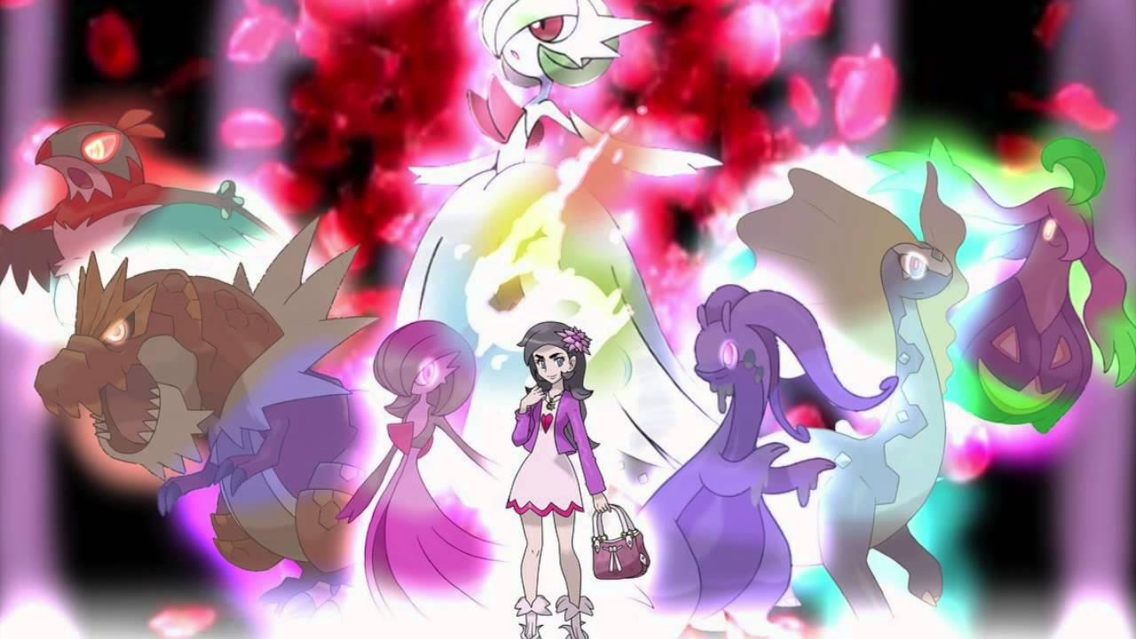 Image result for pokemon trainer Diantha