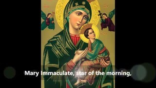 Novena to Our Mother of Perpetual Help.(Full Novena)