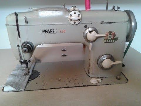 PFAFF 260, robot pegado, maquina de coser sewing machine