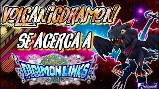 Volcanicdramon se acerca a Digimon Links