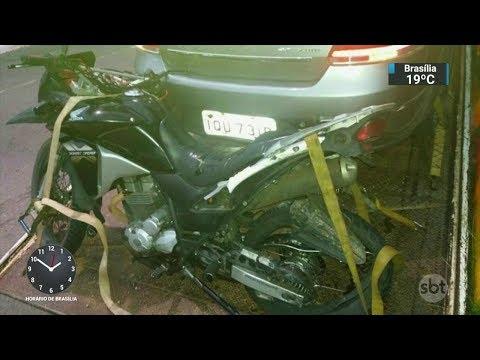 Jovem acusado de atropelar e matar mototaxista durante racha é preso | SBT Notícias (01/03/18)