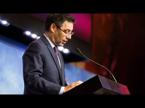 Josep Maria Bartomeu's State of the Presidency Appearance