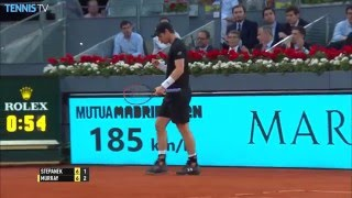 2016 Mutua Madrid Open: Tuesday Highlights inc. Nadal & Murray