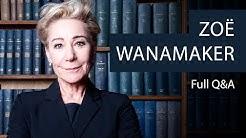 Zoë Wanamaker | Full Q&A at The Oxford Union