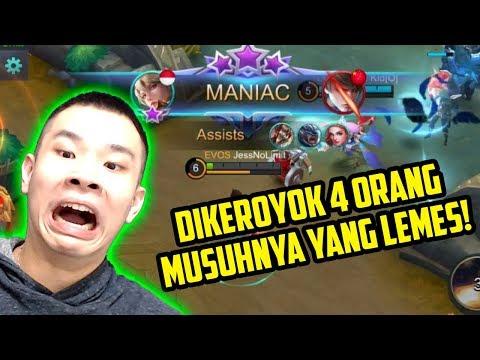KIMMY DIKEROYOK 4 ORANG, MUSUHNYA YANG LEMES!! MALAH DAPET MANIAC!! AWWW!