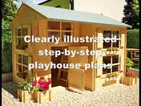 How to build a playhouse for kids how to make a for How to make a playhouse out of wood