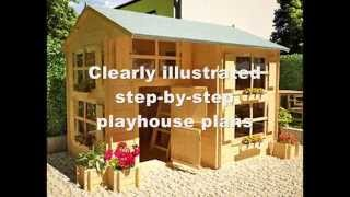 How To Build A Playhouse For Kids | How To Make A Playhouse Out Of Wood