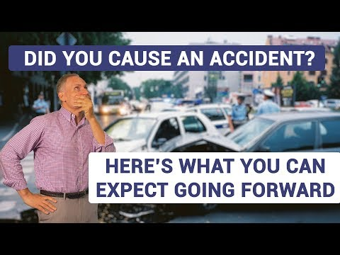 What happens if I'm at fault for a car accident